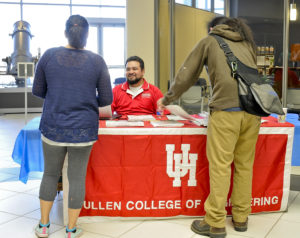 Upon completing the engineering program, San Jacinto College engineering students have the option of transferring to University of Houston's Cullen College of Engineering.